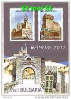 2012 Europa – Visit Bulgaria   S/S- MNH  BULGARIA / BULGARIE - Bulgaria