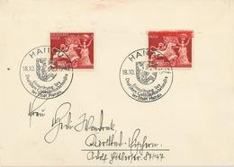 Hanau Goldschmiedehaus Einweihung 1942 Sonderstempel - Briefe U. Dokumente