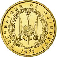 Monnaie, Djibouti, 10 Francs, 1977, ESSAI, SUP+, Bronze-Aluminium, KM:E4 - Djibouti