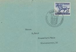 Hamburg 28.6.1942 - Grosser Deutschlandspreis Der Dreijährigen - Sonderstempel Ersttag? - Das Blaue Band 1942 - Briefe U. Dokumente