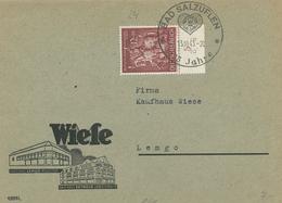 Bad Salzuflen - Goldschmiedekunst 1943 125 Jahre Herz - Wiese Lemgo Detmold - Briefe U. Dokumente