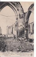 Ramscapelle (1914-1915) - Église Après Le Bombardement - Nieuwpoort