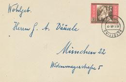 Altötting 1943 - Postkongress Wien 1942 - Briefe U. Dokumente