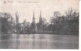 Anvers - Étang Du Parc Et Église St. Joseph - Antwerpen