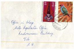 (D 9) Cover - New Hebrides (now Called Vanuatu) 1 Cover - 1970's - Autres