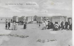 AK 0306  Blankenberghe ( Blankenberge )  - Les Cabines Sur La Plage Um 1900-1910 - Blankenberge