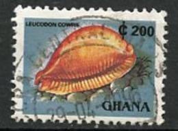 Ghana 1991 Y&T N°(2) - Michel N°1614F - 200c Leucodon - Ghana (1957-...)