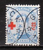 156  Croix-Rouge - Bonne Valeur - Oblit. Relais GOYCK - LOOK!!!! - 1918 Red Cross