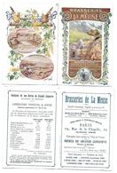 """Brasserie De La Meuse - """" Analyses De Nos Bières ... """" Bar-le-Duc - Années 1900 - Altri"""