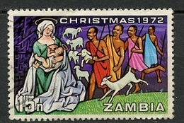 Zambie - Sambia - Zambia 1972 Y&T N°91 - Michel N°95 (o) - 15n Noël - Zambie (1965-...)