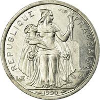 Monnaie, French Polynesia, Franc, 1990, Paris, SUP, Aluminium, KM:11 - Polynésie Française