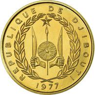 Monnaie, Djibouti, 20 Francs, 1977, Paris, ESSAI, FDC, Aluminum-Bronze, KM:E5 - Djibouti