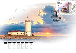 Russia 2019 Lighthouse Tolbukhin FDC MNH** - 1992-.... Federación