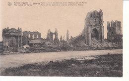Ypres (1914-1918) - Ruines De La Cathédrale Et De L'Abbaye De St. Martin - Ieper