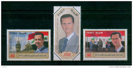 SYRIA / 2014 / PRESIDENTIAL ELECTION / PRES. BASHAR AL- ASSAD / MOSQUE / CHURCH / FLAG / MNH / VF - Syrië