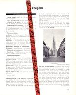 Gemeente - Stad Izegem - Org. Knipsel Uit Magazine 1958 - Geschiedenis - Folklore - Nijverheid - Handel - Non Classificati
