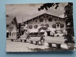 """Hotel """" ALTE POST """" Oberammergau ( Hildenbrand ) Anno 19?? ( Voir / Zie Photo ) ! - Oberammergau"""