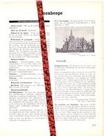 Gemeente Izenberge - Org. Knipsel Uit Magazine 1958 - Geschiedenis - Folklore - Nijverheid - Handel + Kaart - Non Classificati
