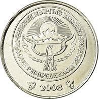 Monnaie, KYRGYZSTAN, Som, 2008, Paris, SPL, Nickel Plated Steel, KM:14 - Kirgizië
