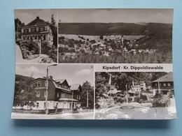 KIPSDORF - Kr. Dippoldiswalde ( Foto Schubert ) Tellkoppe U.a. >> Anno 19?? ( Voir / Zie Photo ) ! - Kipsdorf