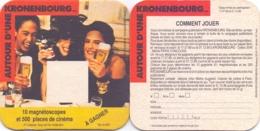 #D235-100 Viltje Kronenbourg - Beer Mats