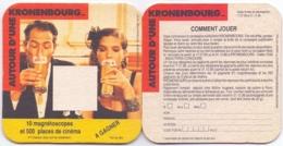 #D235-101 Viltje Kronenbourg - Beer Mats