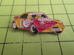 616A Pin's Pins / Rare Et  Belle Qualité !!! THEME : AUTOMOBILES / VOITURE DE RALLYE PORSCHE BARBARA CEDICA - Porsche