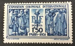 FRANCE - YT N° 274 ** TB  - MNH - Cote: 110 € - Unused Stamps