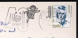 Germany 2000 / WWF, 40 Years, Bear Panda 1963-2003 / Machine Stamp - W.W.F.