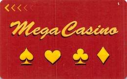 Mega Casino - Mexico - Slot Card With P641488  .....[FSC]..... - Casino Cards