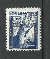 LETTLAND Latvia 1936 Michel 245 * - Lettland
