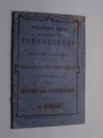 TUBERCULOSE Gesticht A. VAN DEN NEST (Blindenstraat) Gesprek Over TBC ( Mestdagh N° 45621 ) > ( Details Zie Foto ) ! - Non Classificati