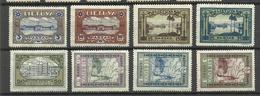 LITAUEN Lithuania 1932 Michel 316 - 323 A * - Lituanie