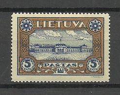 LITAUEN Lithuania 1932 Michel 316 A * - Litauen