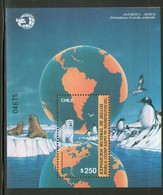 CHILI 1989  FAUNE POLAIRE  YVERT  N°B34  NEUF MNH** - Preserve The Polar Regions And Glaciers