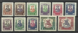 LITAUEN Lithuania 1930 Michel 293 - 303 * - Litauen