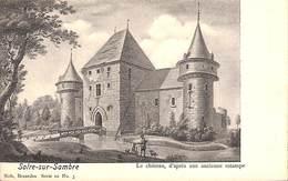 Solre-sur-Sambre - Le Château, D'après Une Ancienne Estampe - Erquelinnes