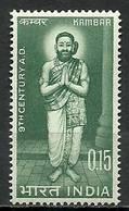 India 1966 Mi 408 MNH ( ZS8 IND408dav56A ) - Ecrivains