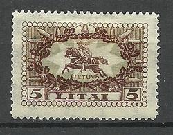LITAUEN Lithuania 1927 Michel 280 * - Litauen