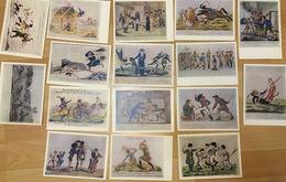 Seize Graphiques Artistiques Satiriques De La Guerre Patriotique De L'année - Andere Oorlogen