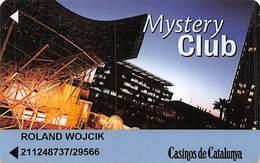 Casinos De Catalunya Spain Mystery Club / Slot Card ....[FSC]..... - Casino Cards