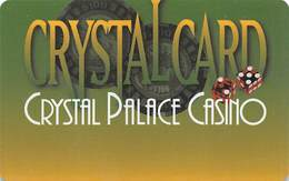 Crystal Palace Casino - Nassau Bahamas - BLANK Slot Card ....[FSC]..... - Casino Cards
