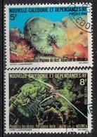 NOUVELLE CALEDONIE              N°     YVERT    440/441  OBLITERE       ( Ob  5/21 ) - Nueva Caledonia