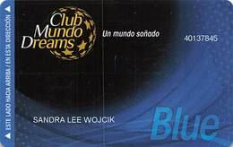 Creams Casino - Chile - Slot Card   .....[FSC]..... - Casino Cards