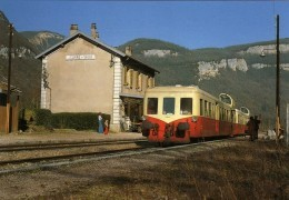 RU CT 01 - Autorail Picasso X 3940 En Gare - JEURRE-VAUX - Jura 39 - SNCF - Gares - Avec Trains