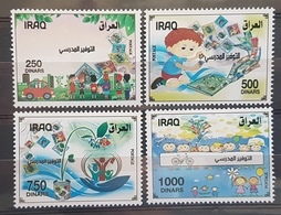 Iraq 2019 NEW MNH Complete Set - School Saving, Children Paintings - Irak
