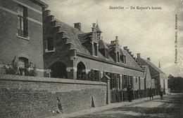 Cpa SANTVLIET - ZANDVLIET - ANTWERPEN, De Keyser's Hoeve, édit.: D. HENDRIX - Belgique
