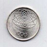 """ITALIA - 1970 - 1000 Lire """"Roma Capitale"""" - FDC - Argento 835 - Peso 14,6 Grammi - (MW2534) - 1946-… : Repubblica"""