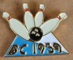 BOWLIG CLUB 1939 - QUILLES - BOULE  -       (ROSE) - Bowling