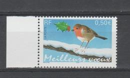FRANCE / 2003 / Y&T N° 3621 ** : Rouge-gorge (de Feuille) BdF G - Gomme D'origine Intacte - Francia